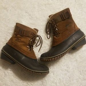 Sorel Lace Up Duck Boots